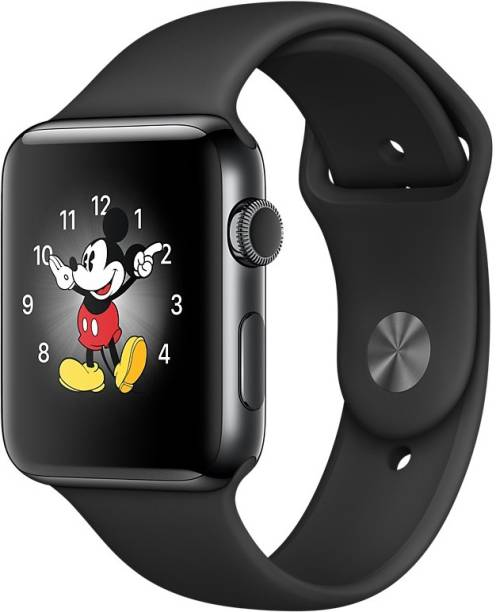 Apple Watch Series 2 – 42 mm Space Black Stainless Steel Case with Space Black Sport Band