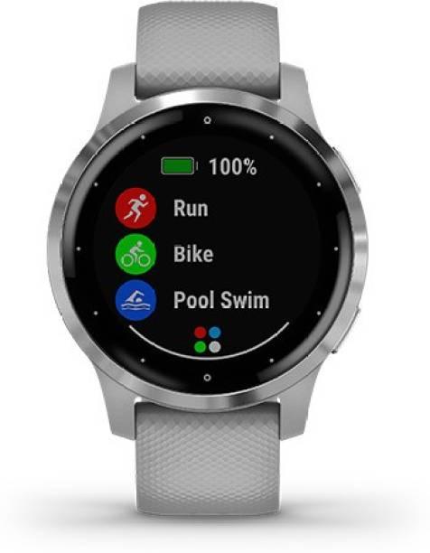 Garmin Garmin VIVOACTIVE 4S Powder Gray/Silver Smartwatch Price in India – Buy Garmin Garmin VIVOACTIVE 4S Powder Gray/Silver Smartwatch online at…